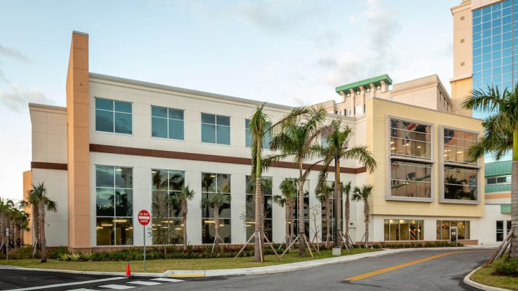 Aventura Hospital Bed Tower Expansion